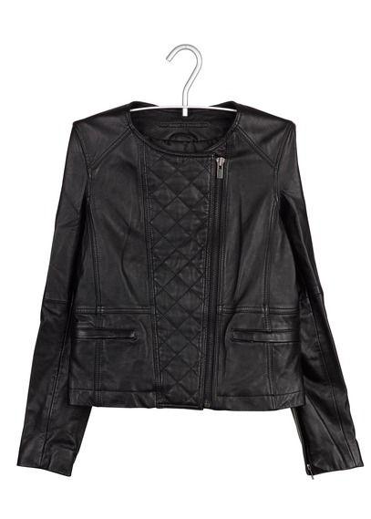 Veste en cuir comptoir des cotonniers 2012