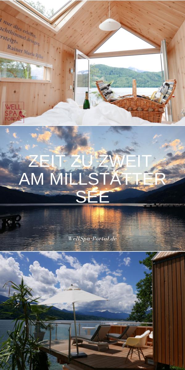 Zeit zu Zweit am Millstätter Seen in Kärnten Österreich