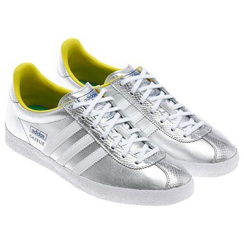 a22d1a09bd4 silver ADIDAS Gazelles Adidas Gazelle