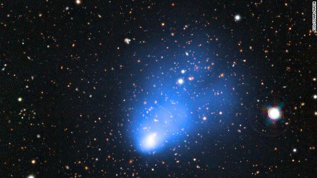 La NASA descubre un grupo de galaxias a millones de años luz