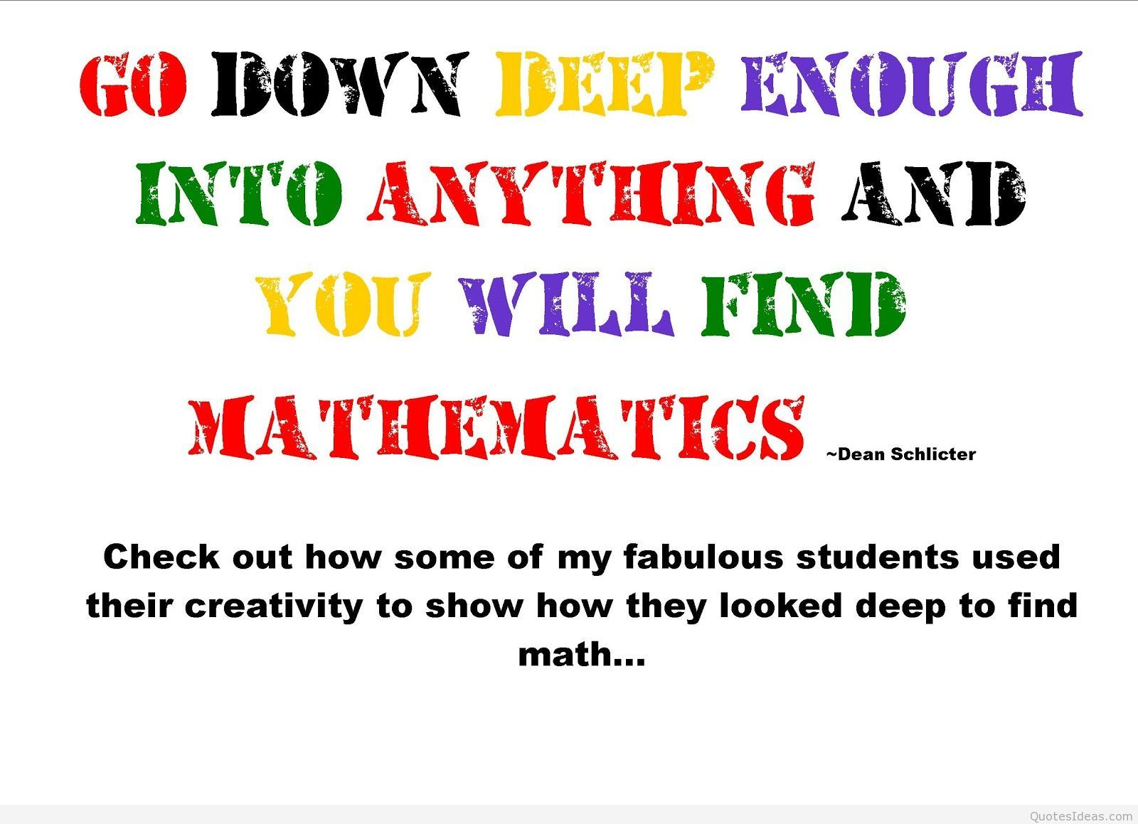 Image Result For Math Quotes Motivational Quotes For Life Math Quotes Quotes For Kids