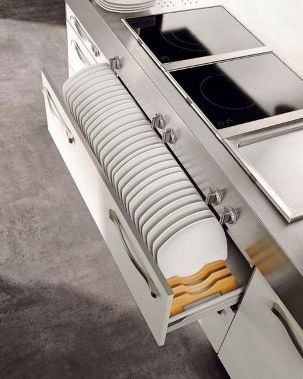 Küchenschrank bequem und ordentlich einräumen! Küche Pinterest - küchenschrank mit schubladen