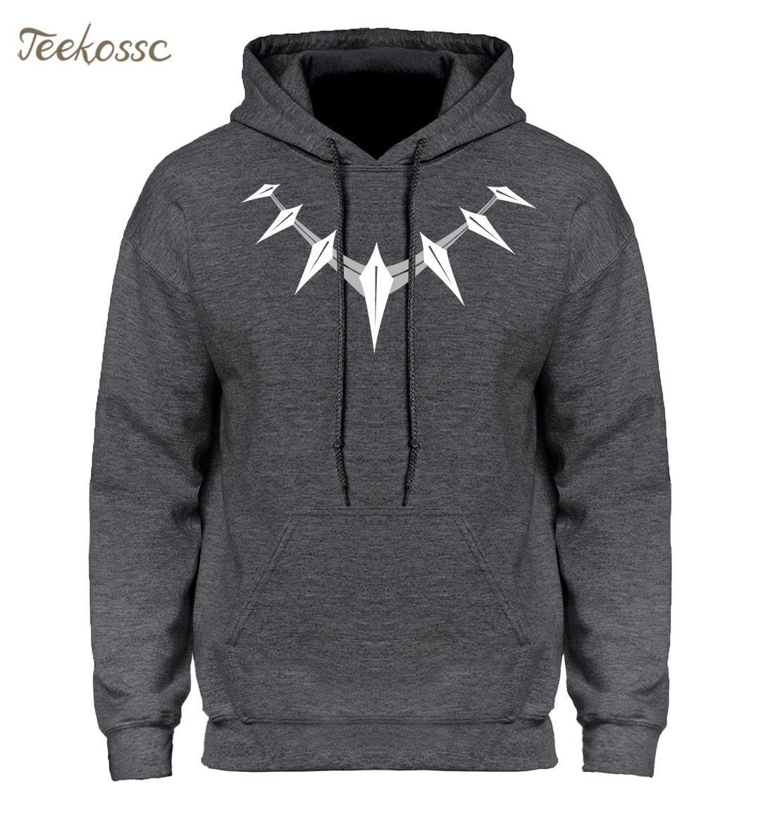 Black panther hoodie sweatshirt men killmonger hoodies