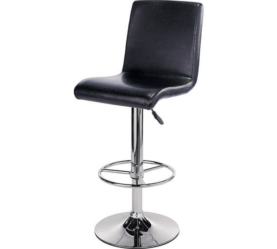 Enjoyable Buy Collection Turner Black Leather Effect Seated Bar Stool Ncnpc Chair Design For Home Ncnpcorg