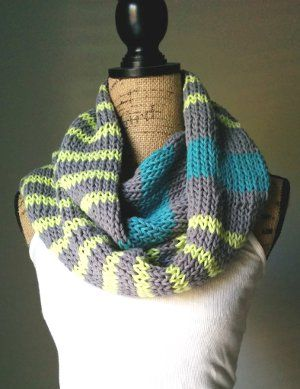 Neon stripes infinity scarf infinity neon and scarves neon stripes infinity scarf dt1010fo