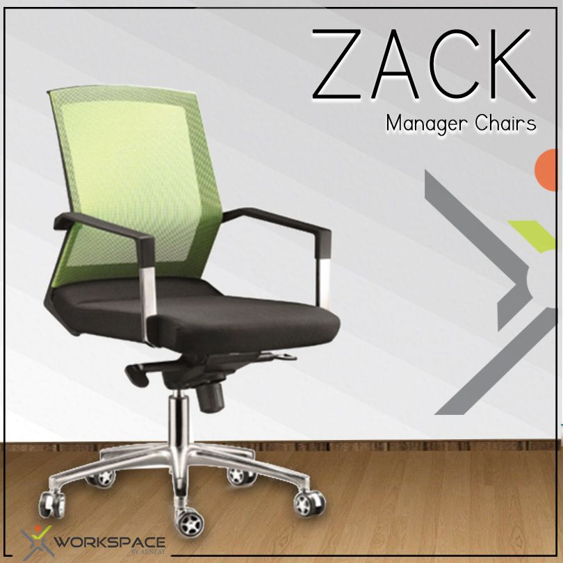 Zack Manager Chairs By Workspace. Mesh Back Rest