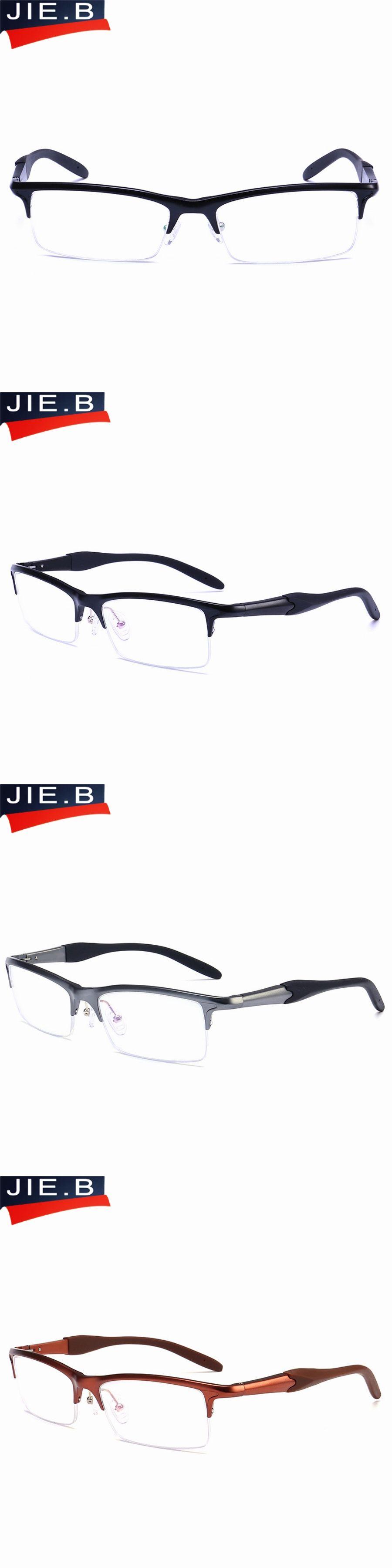 97563acc1c4d B Brand Prescription Glasses Frames Aluminium Magnesium-Alloy Frame  Spectacle Eyeglasses Myopia Glasses