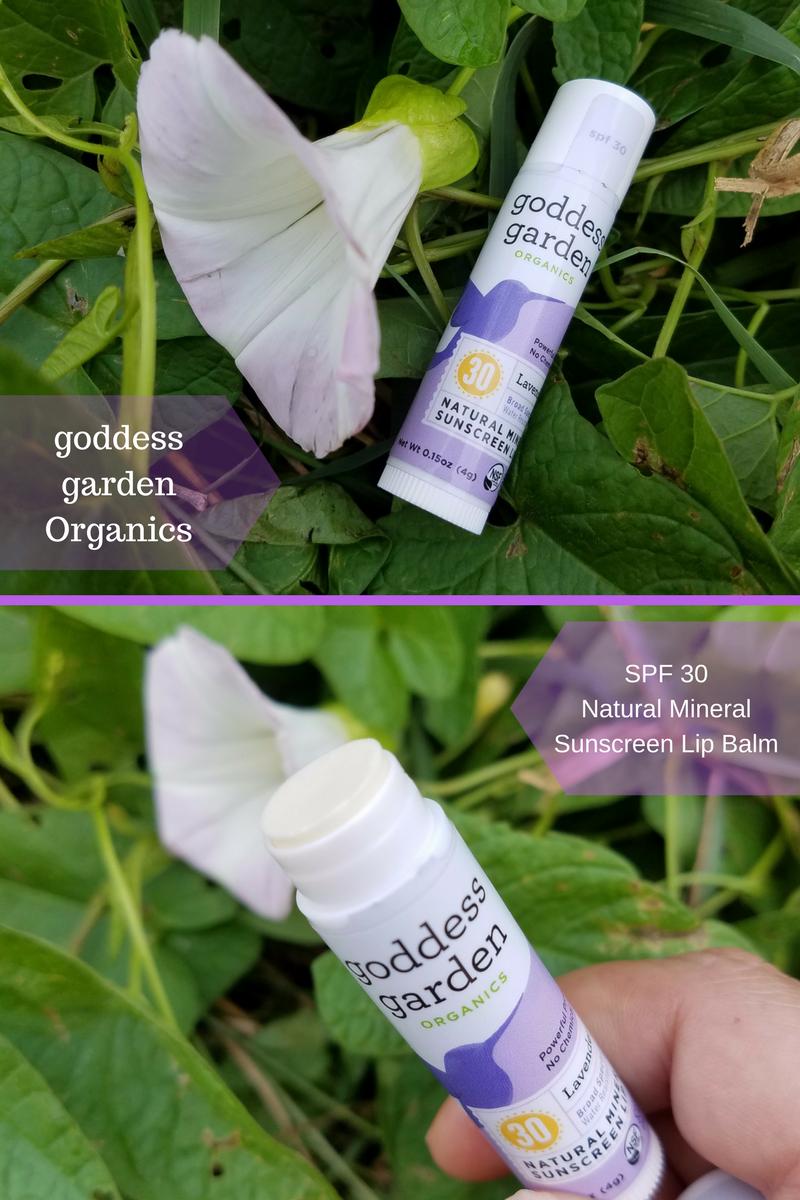 Goddess Garden Organics Natural Mineral Sunscreen Lip Balm Review #spon #ad  « DustinNikki Mommy