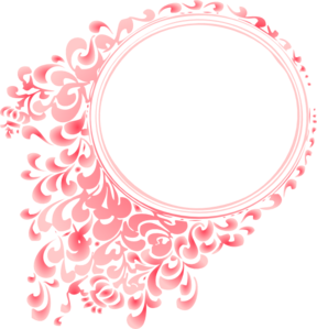 Pink Gradient Round Border Clip Art Vector Clip Art Online Royalty Free Public Domain Clip Art Borders Clip Art Borders And Frames