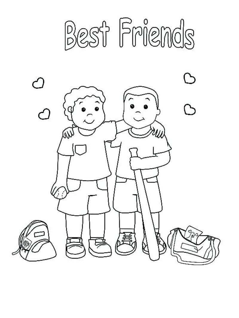 Coloring Pages For Your Best Friend Free