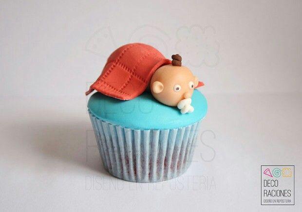 Cupcake Baby by DECO RACIONES decoracionesreposteria.wordpress.com
