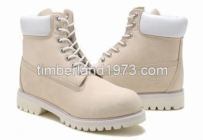 fdbd31d7333 Best Price Timberland Mens 6 Inch Boots Cream White T19200   88.00 ...