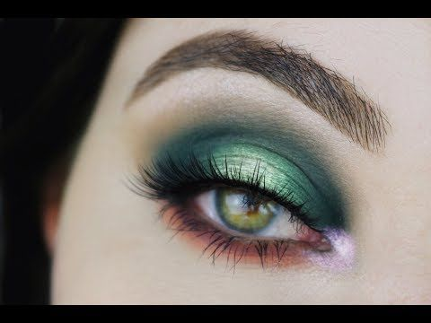 Smokey Golden Olive Eye Makeup Tutorial - ABH Subculture Palette - YouTube