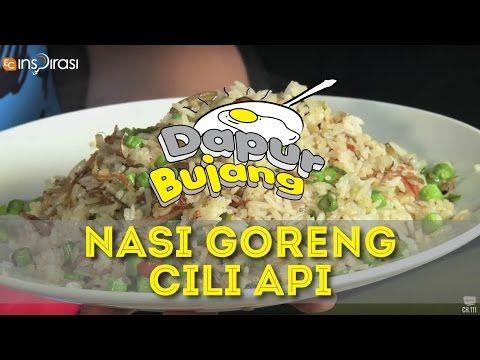 Dapurbujang Nasi Goreng Cili Api Youtube In 2020 Nasi Goreng Recipes Cooking