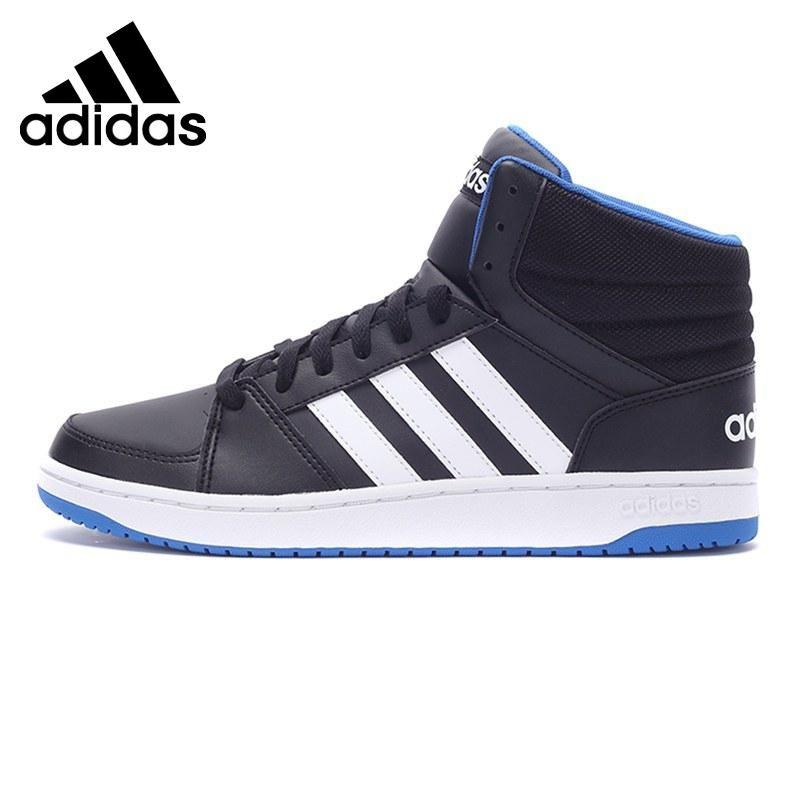 Original Adidas NEO Label L Hoops VS MID Men's Skateboarding Shoes ...