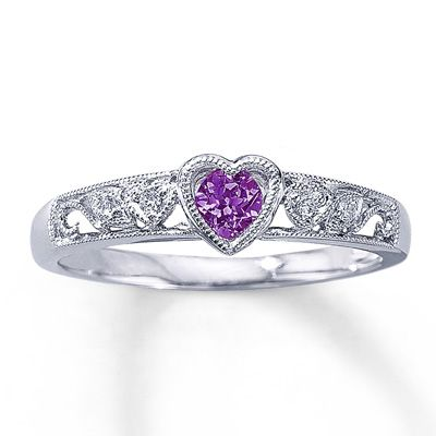 Purple Heart Ring When I Get Married I Want My Ring To