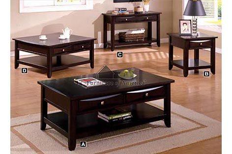 A.M.B. Furniture U0026 Design :: Living Room Furniture :: Coffee Table Sets ::