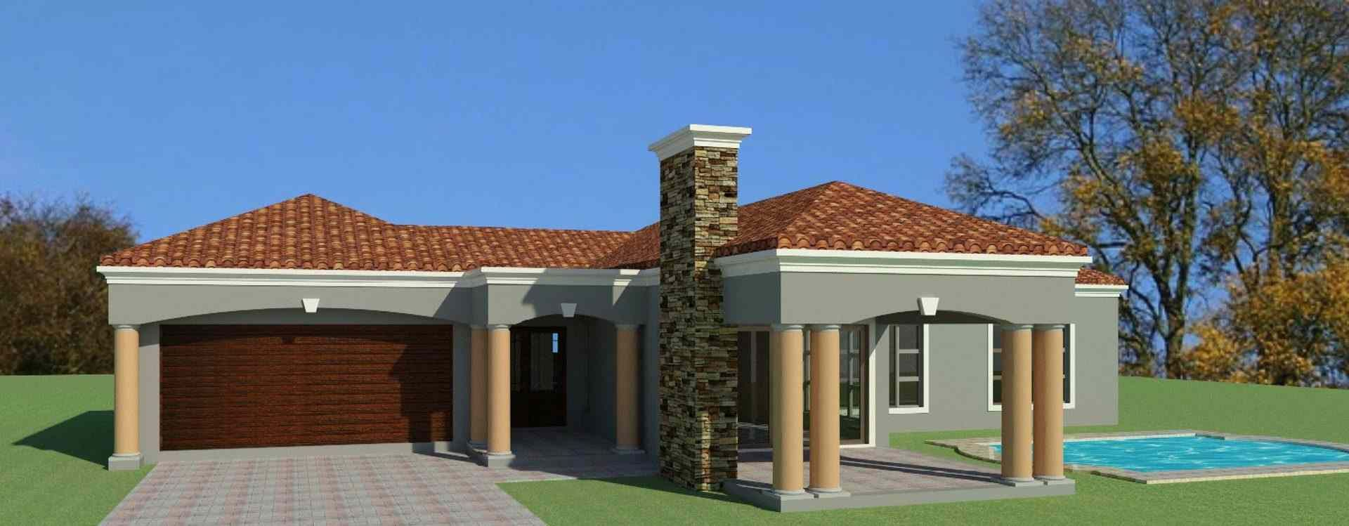 Beautiful 3 Bedroom House Plans | South African Designs ...