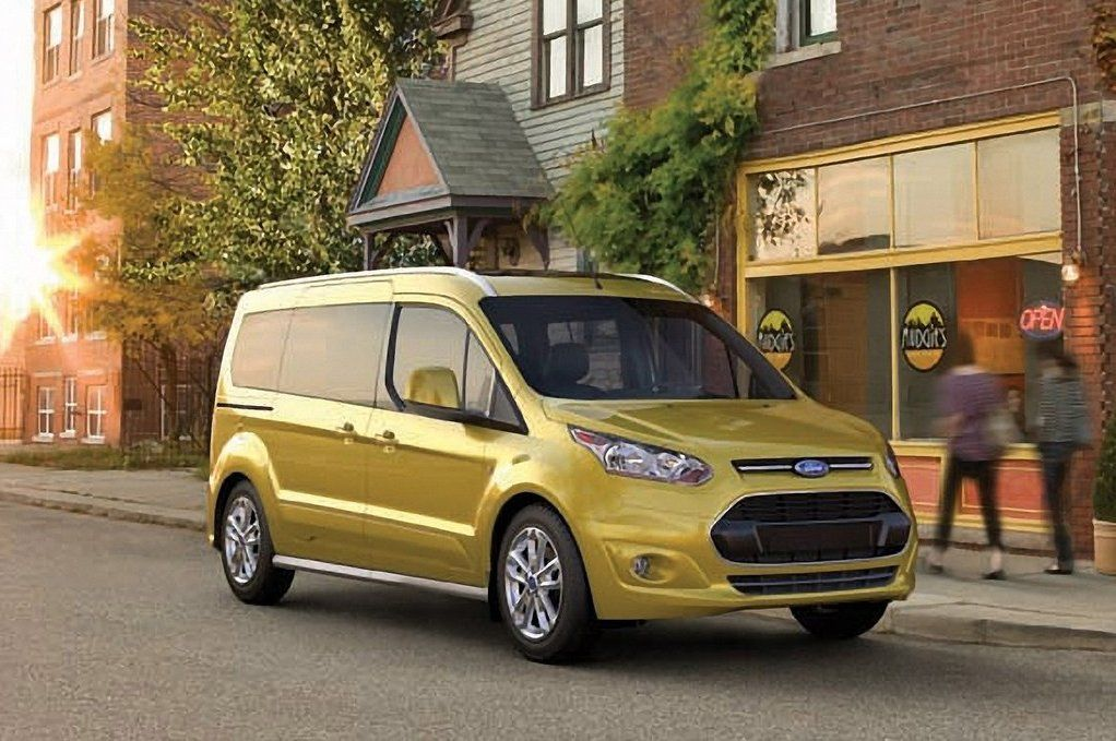 2017 Ford Transit Connect Exterior Yellow Color Grille Ford Transit Mini Van Ford