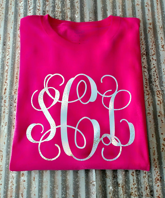 8400afd8 Pin by CarterEverAfter on monogram shirts | Monogram shirts, Holographic  shirt, Shirts