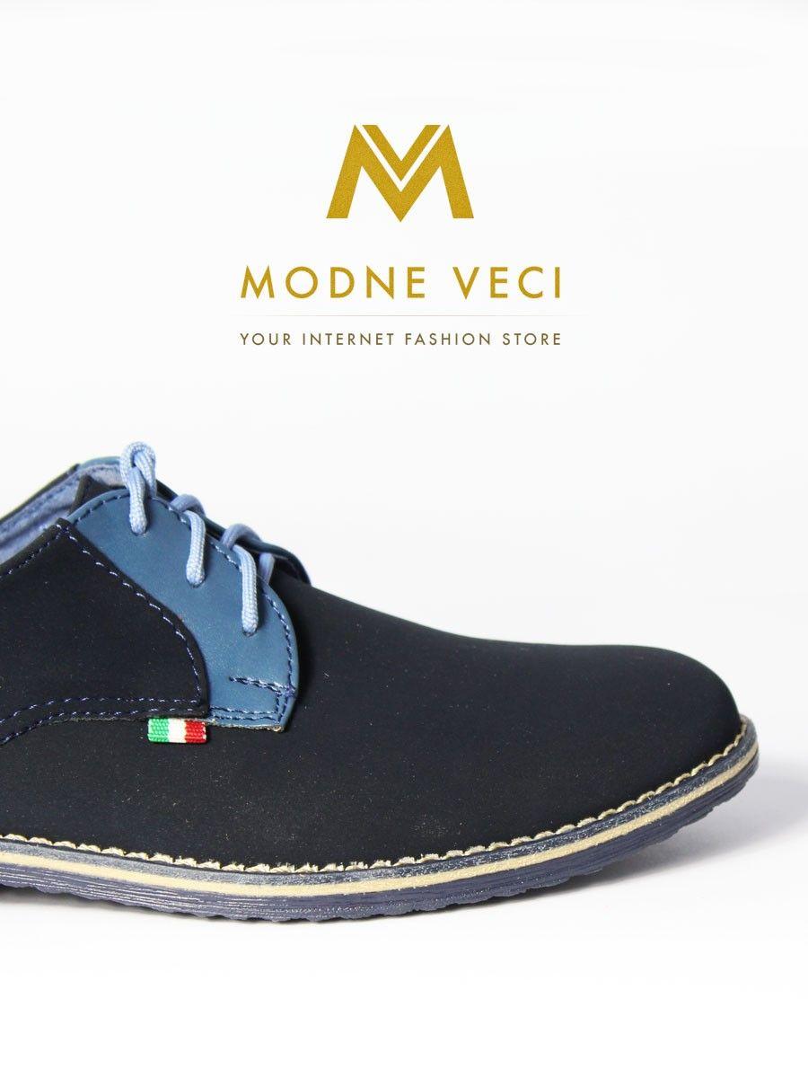 5e1b0bbd0506 Elegantné chlapčenské topánočky v trendy tmavo-modrej farbe. Dodanie do 24…