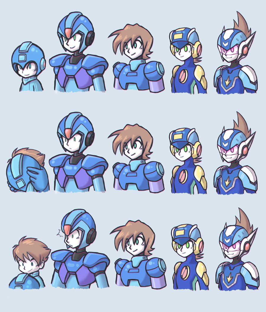 Oh Ahahaha This Is Too Funny Poor X I Really Like The Expressions Used To Tell The Joke Adorable Mega Man X Fan Art Others Art Me Mega Man Mega Man