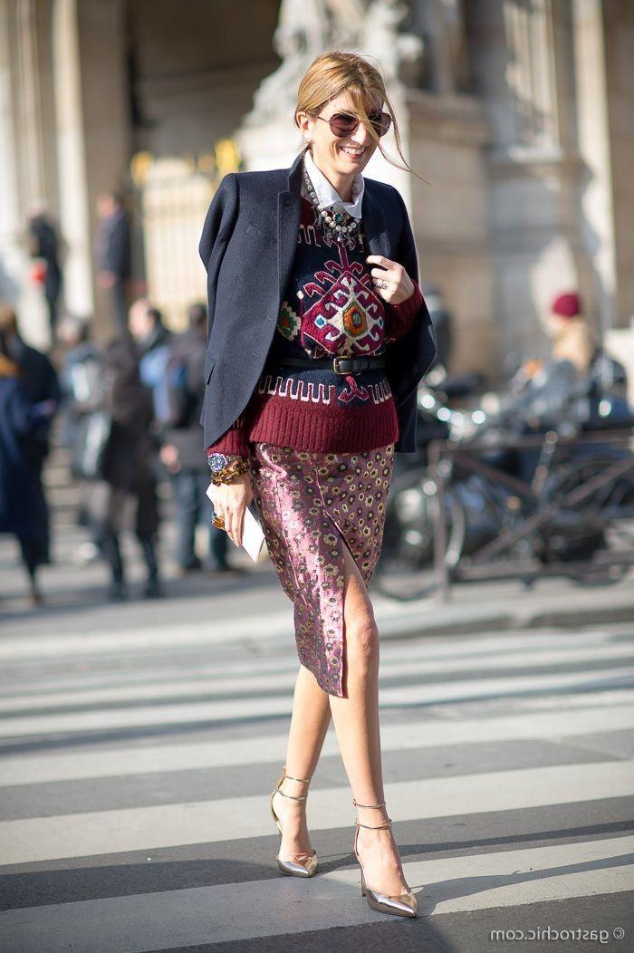Crash estampas <3 15-Ways-To-Wear-Envelope-Midi-Skirts