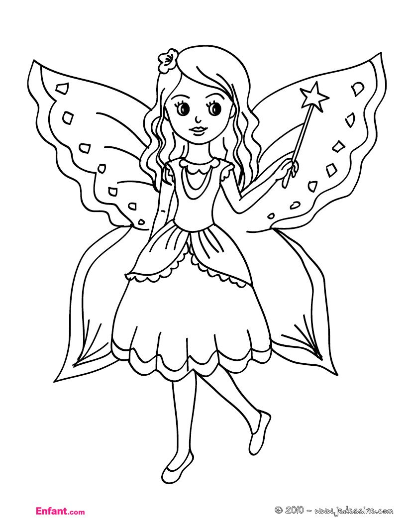 garden fairy coloring pages - Google Search | Coloring: People en ...