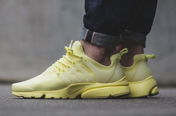super popular a7277 87ccc Spring Summer Vibes With The Nike Air Presto Ultra Breeze Lemon Chiffon