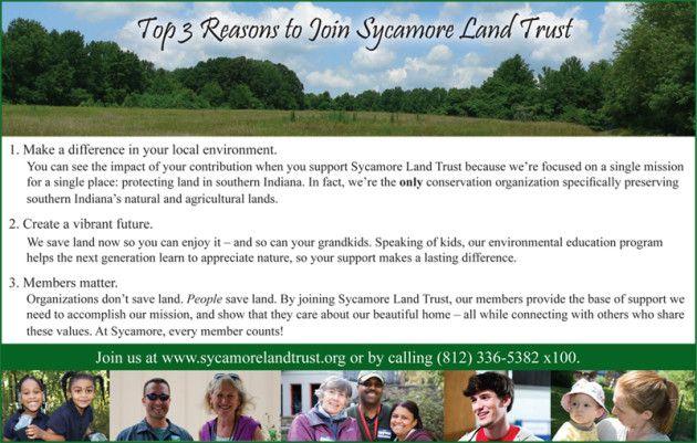 Membership Land Trust Sycamore Natural Heritage