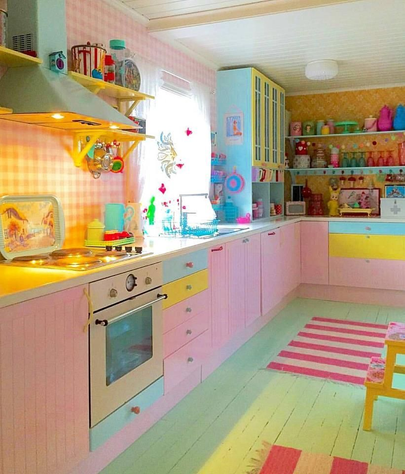 50 Smart And Retro Style Kitchen Ideas For That Different Look Shabby Chic Kitchen Interior Design Kitchen Kitchen Styling