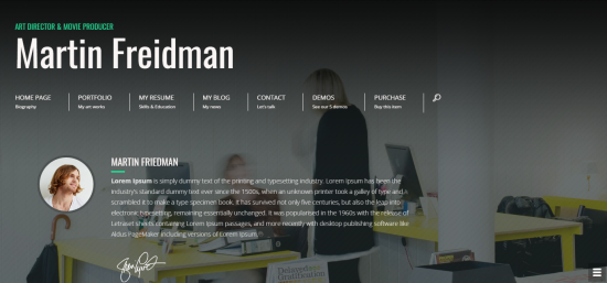 20+ Best Wordpress Resumes & VCard Themes For Your Online