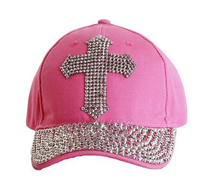 7657c256fd67ea Wholesale & Customize Girls Crown Rhinestone Baseball Cap 100% Cotton Soft  and Comfortable Shinning silver