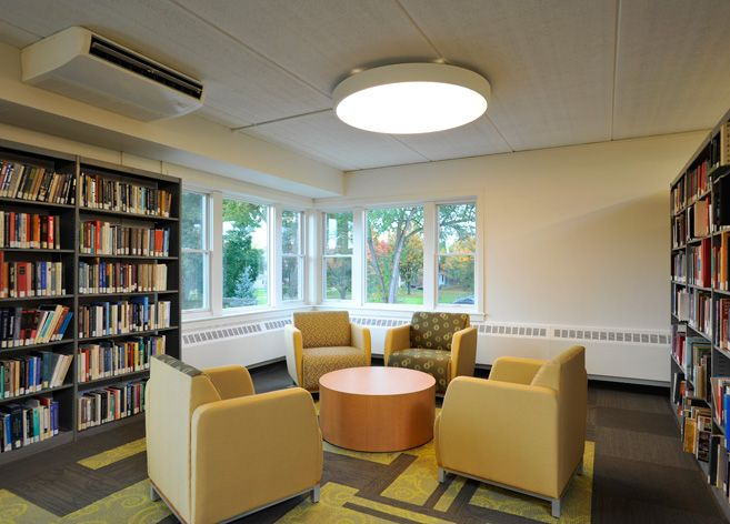 The Sage Colleges Albany NY Swift Lounge Seating In Collaborative Open Space