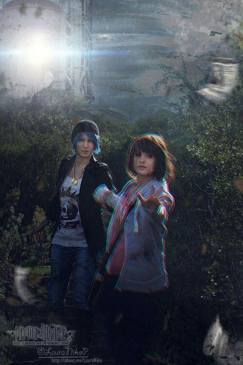 Chloe and max cosplay