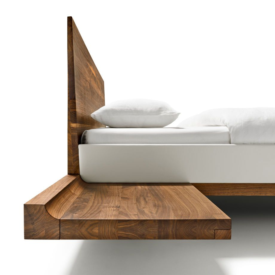 The riletto bed by TEAM 7 with