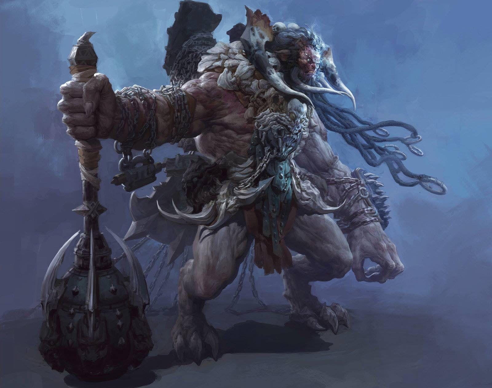 Barbarian beast