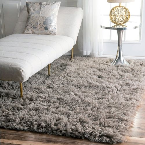 The Ultra Deep Shag Pile Feels Soft Under Bare Feet Measuring Over Two Inches For The Ultimate In Pillowy Comfor Rugs In Living Room Wool Shag Rug Flokati Rug