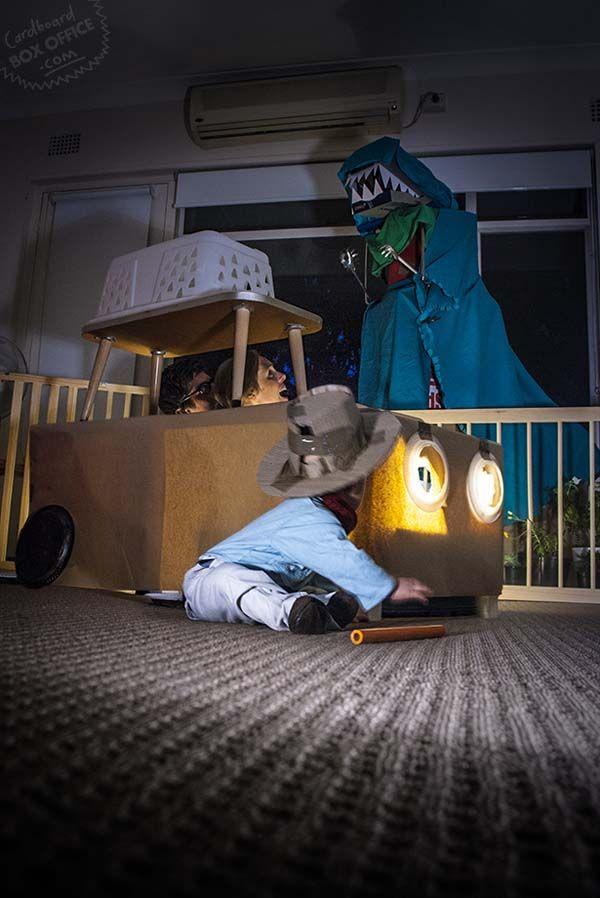 ¿Qué hace una familia cuando le sobran cajas en una mudanza? Visto en http://viralgrey.com por @cannomedia