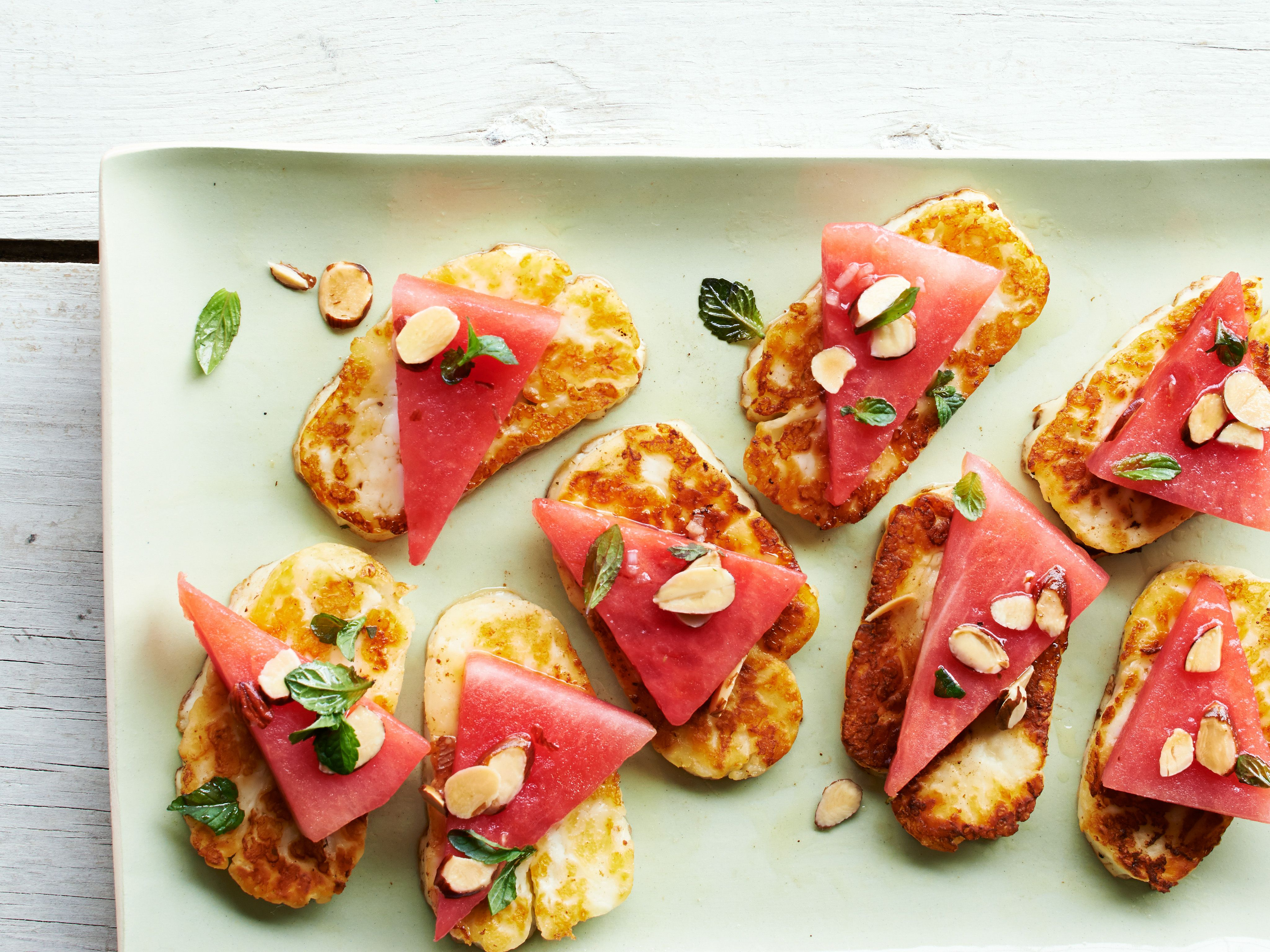 Watermelon and halloumi recipe more michael symon food and get this all star easy to follow watermelon and halloumi recipe from forumfinder Choice Image