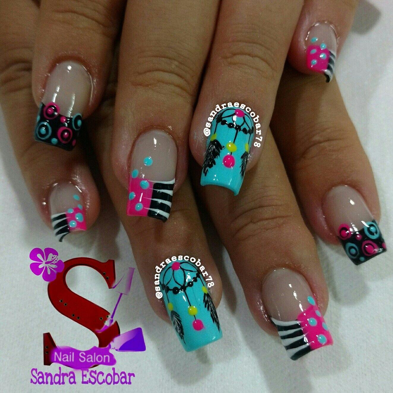 Plumas | manicure | Pinterest | Pluma, Diseños de uñas y Manicuras