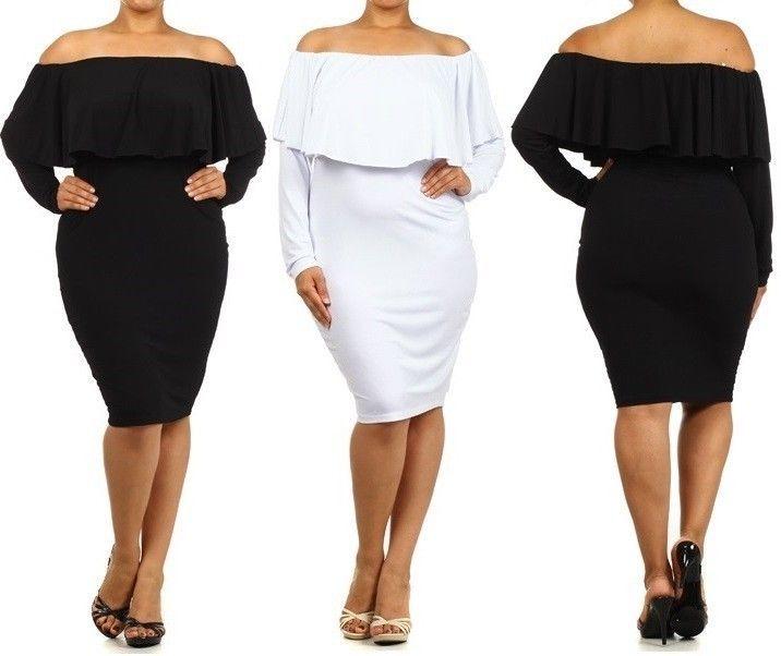 Sizes cocktail dress dresses plus long off shoulder bodycon size that come the
