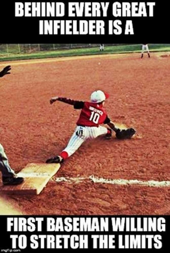Yesss I Didn T Know I Could Do The Splits Till One Day In A Game And Let Me Tell You It Hurt But It Was Worth It Bc She Softball