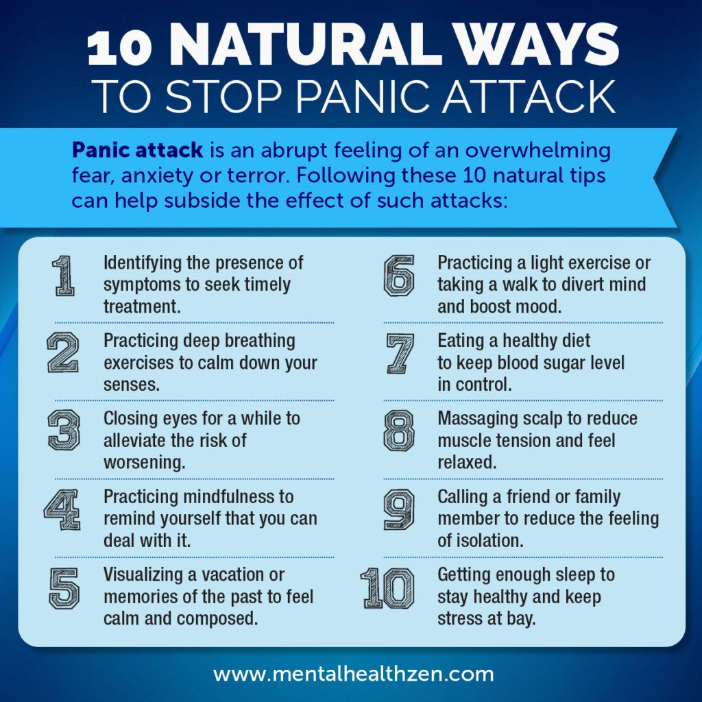 how to stop a anxiety