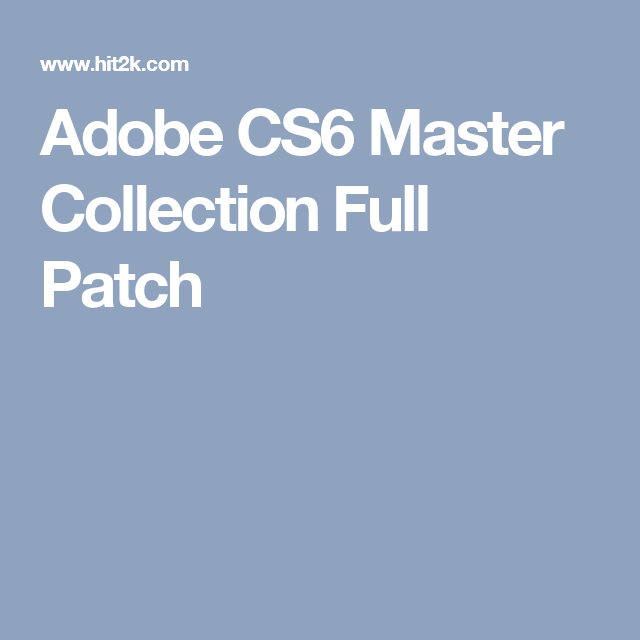 adobe cs6 master collection mac serial number list