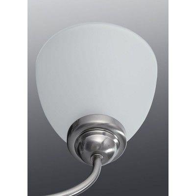 Photo of Progress Lighting P2915 Heart Two-Light Bathroom Mixer – Brushed Nickel