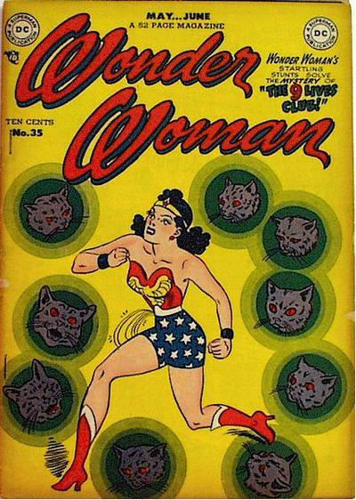 Wonder Woman 35 May June 1949 In 2020 Wonder Woman Comic Wonder Woman Women