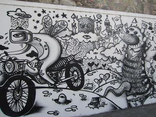 Street Art that make Portugal more beautiful - City of Coimbra