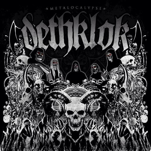 Dethklok The Death Album Band Heavy Metal Black TShirt Tee Shirt