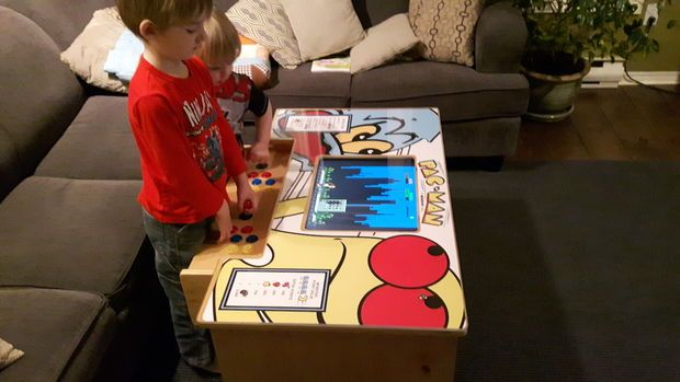 A Diy Arcade Table Powered By Raspberry Pi Electronics